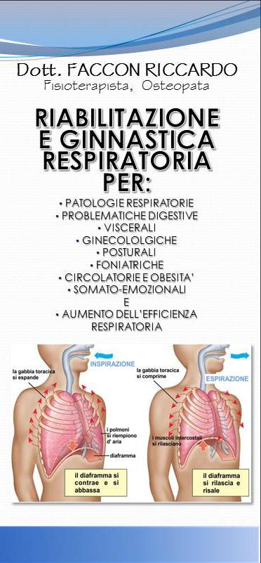 riabilitazione e ginnastica respiratoria