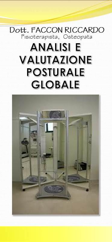 analisi e valutazione posturale globale