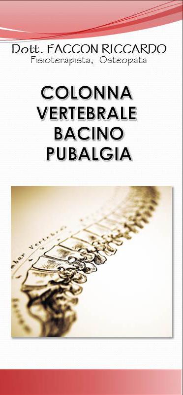 colonna vertebrale bacino pubalgia